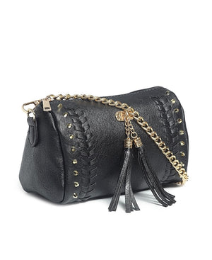 Mini Barrel Bag - Black