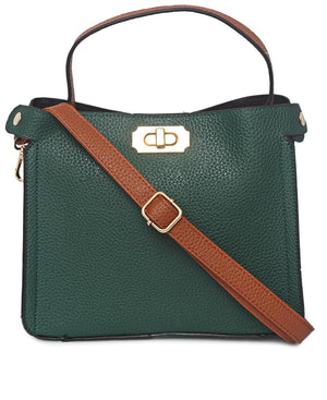 2 Piece Tote Bag - Green