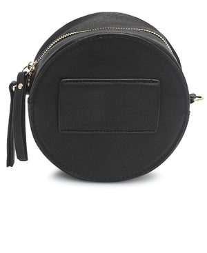 2 In 1 Crossbody Moon Bags - Choc