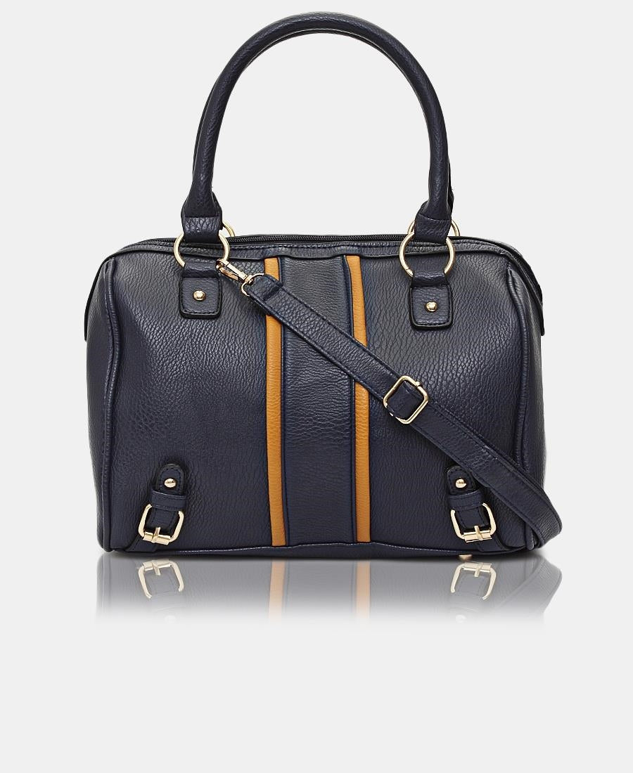 Mini Barrel Bag - Navy
