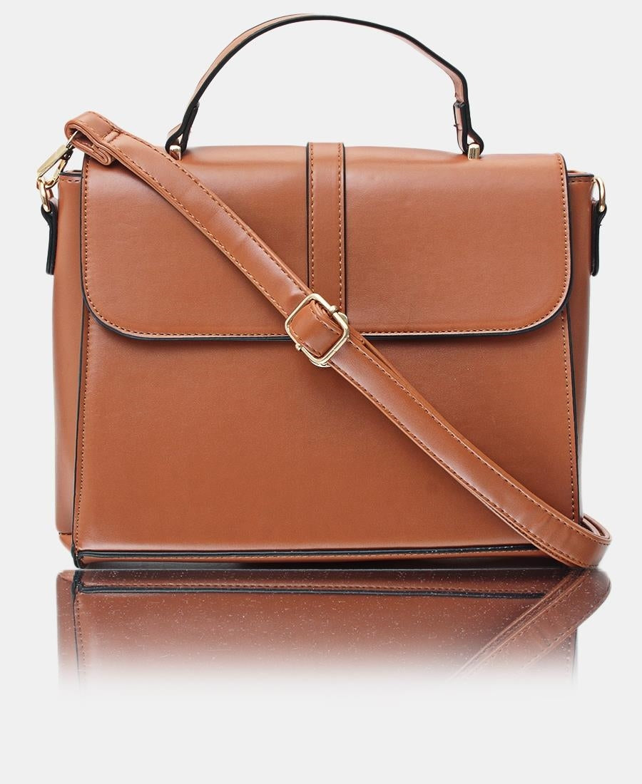 Satchel Bag - Tan