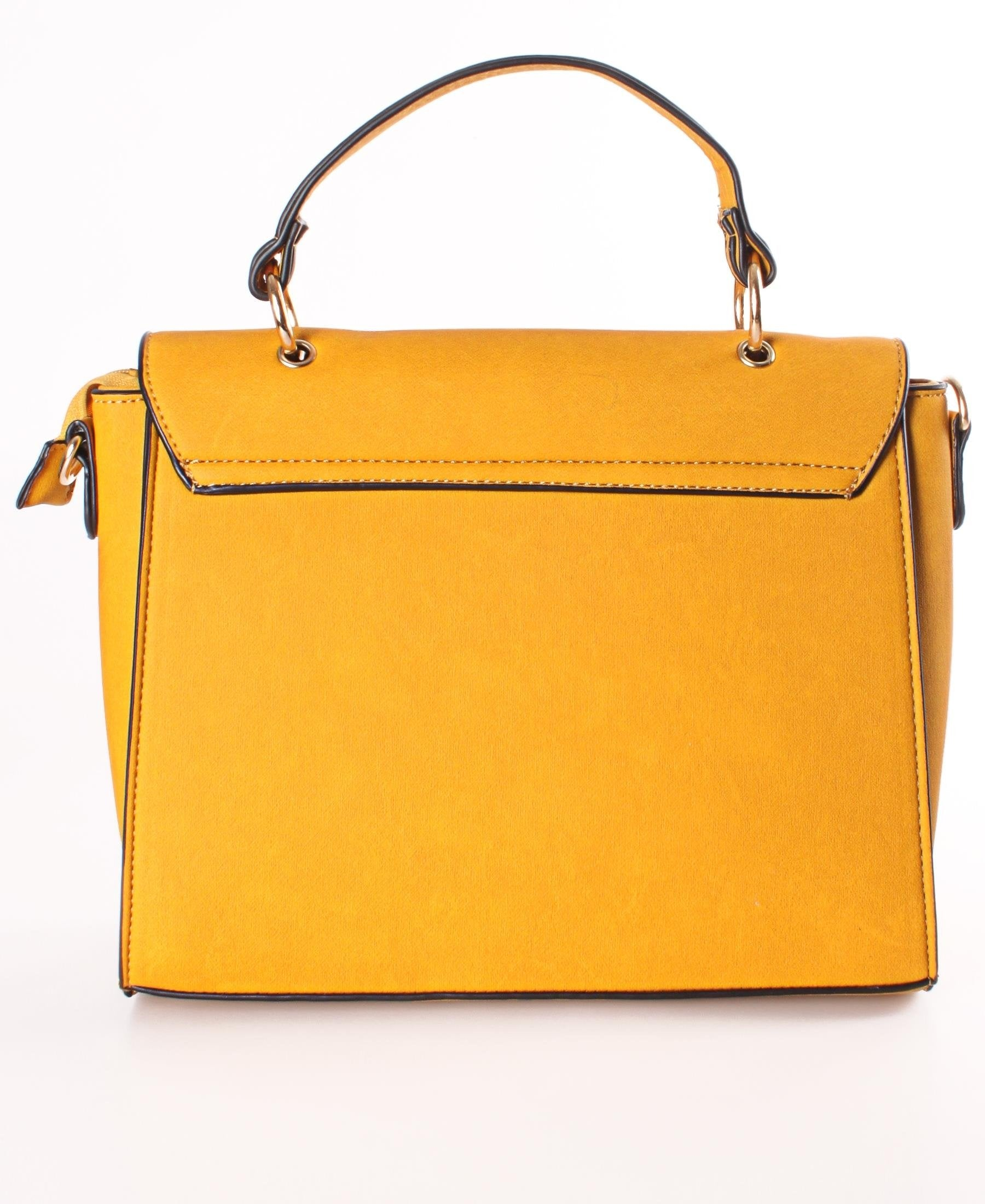 Satchel Bag - Mustard
