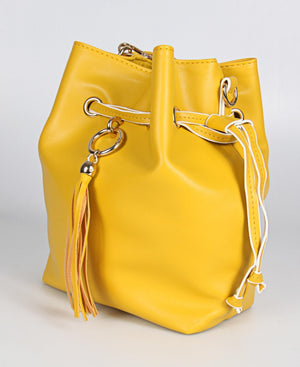 Ladies Yellow Tote Bag - Bags
