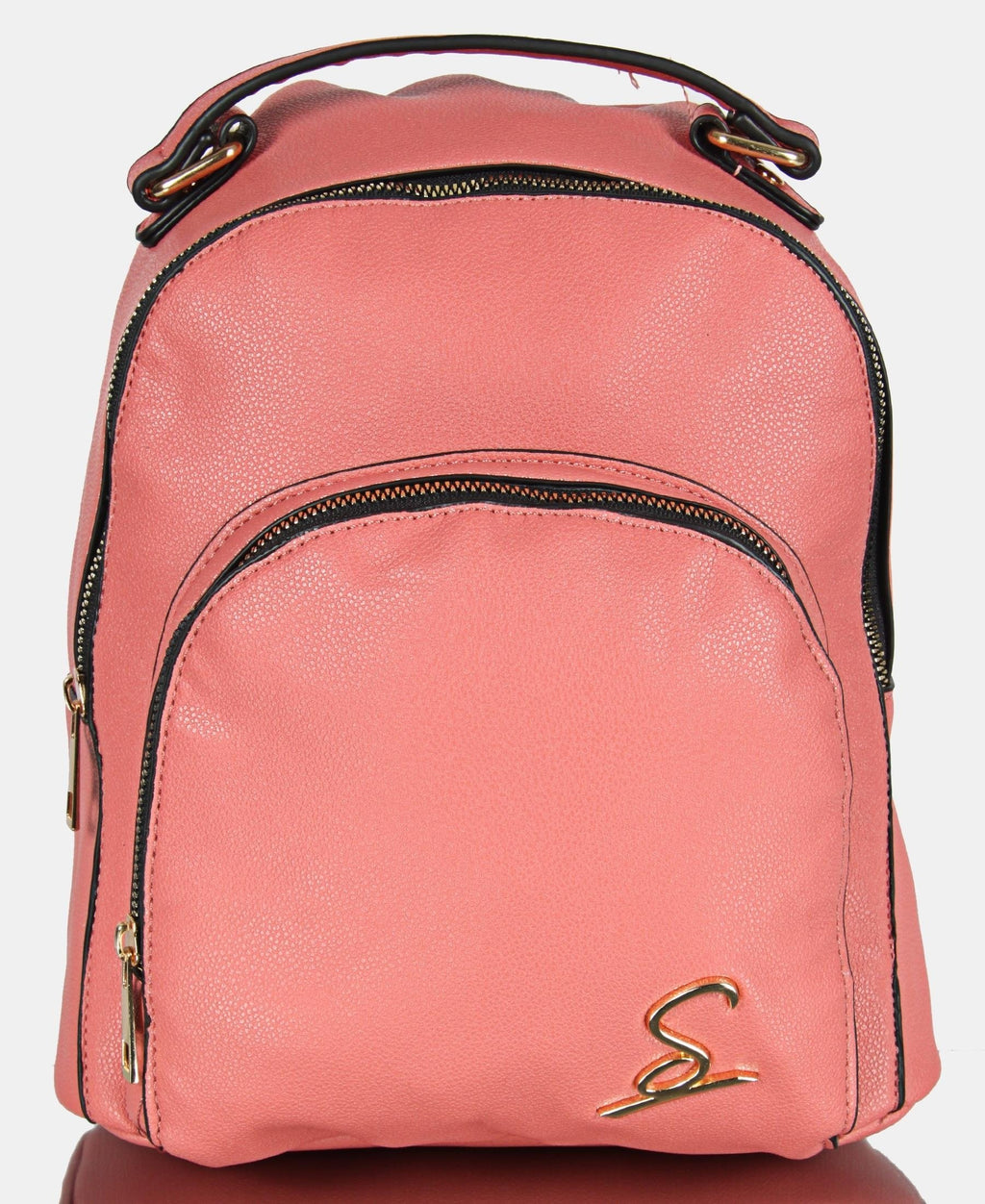Double Compartment Backpack - Mink