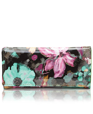 Printed Wallet - Green