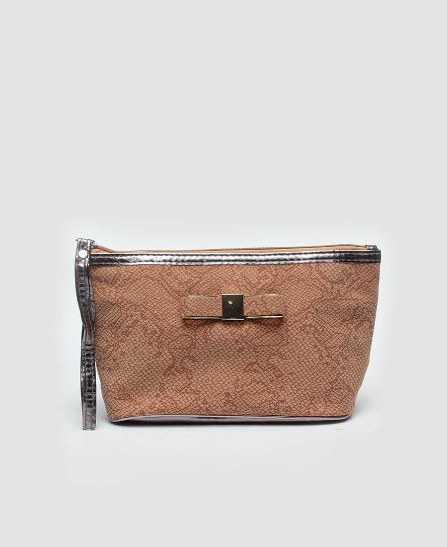 Cosmetic Bag - Tan