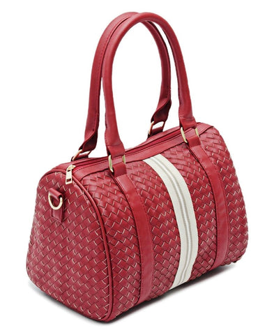 Barrel Bag  - Red