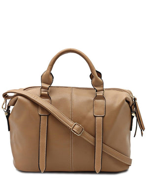 Barrel Bag - Beige