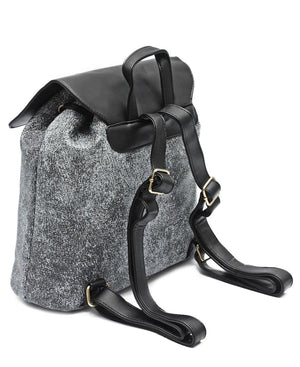 Slouch Backpack - Black