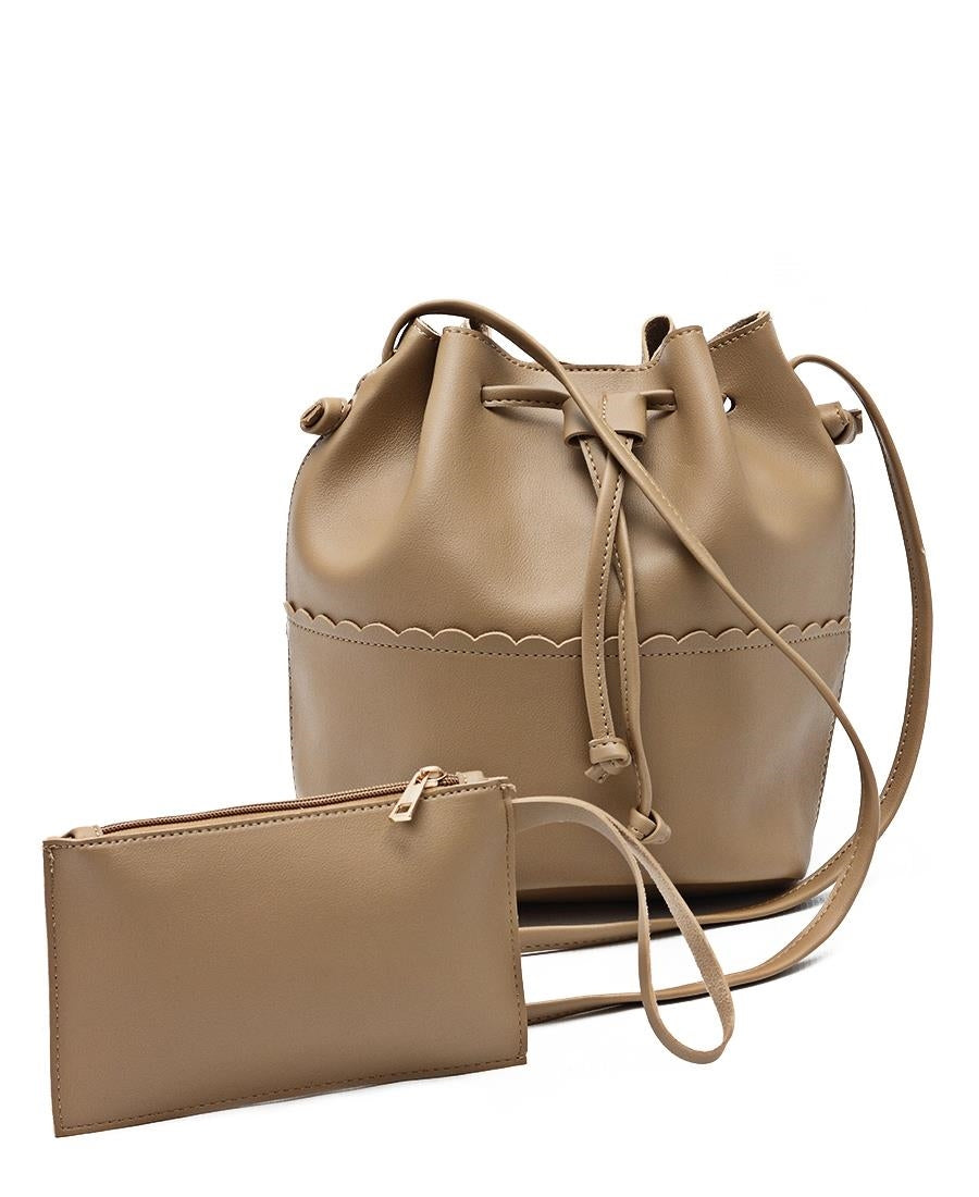 Bucket Bag - Taupe