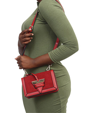 Crossbody Bag - Red