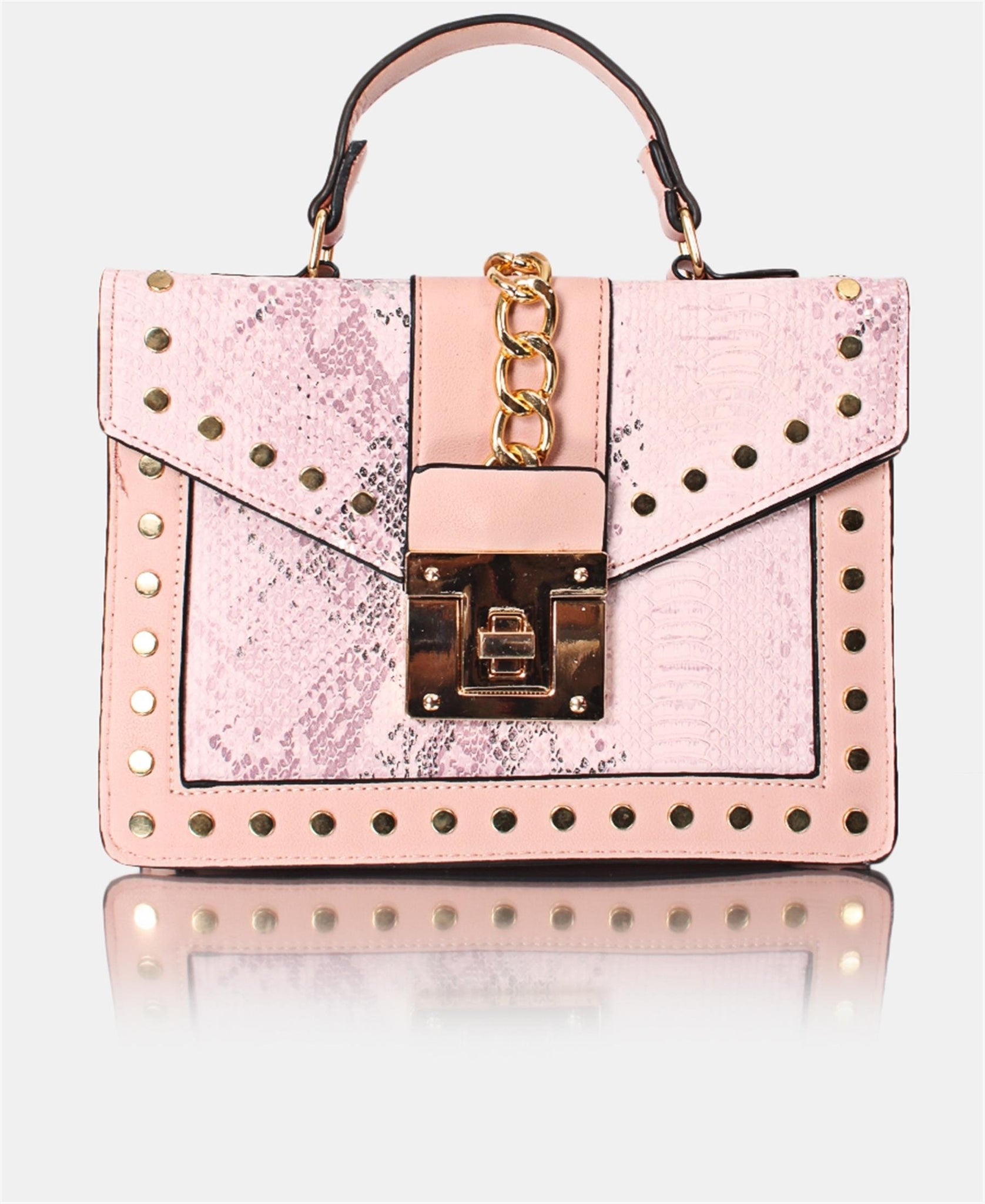 Mini Tote Bag - Pink