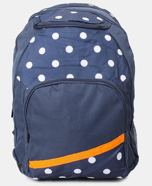Thriple Compartment Backpack - Navy