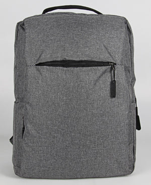 Laptop Bag With USB - Grey