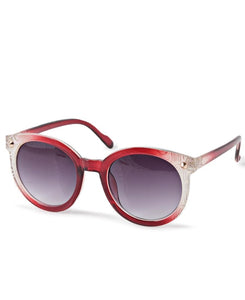 Ombre Sunglasses - Red