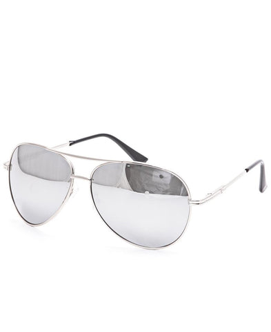 Aviator Sunglasses - Silver