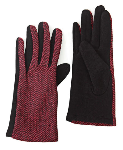 Gloves - Burgundy