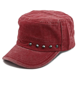 Stud Cap - Red