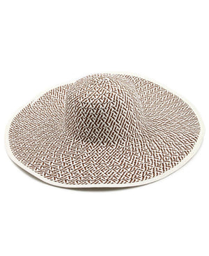 Straw Hat - Brown