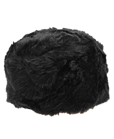 Fur Hat  - Black