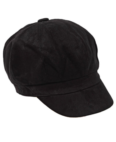 Suede Peak - Black