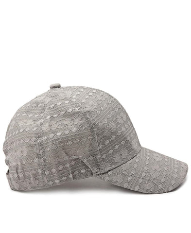 Lace Cap - Grey