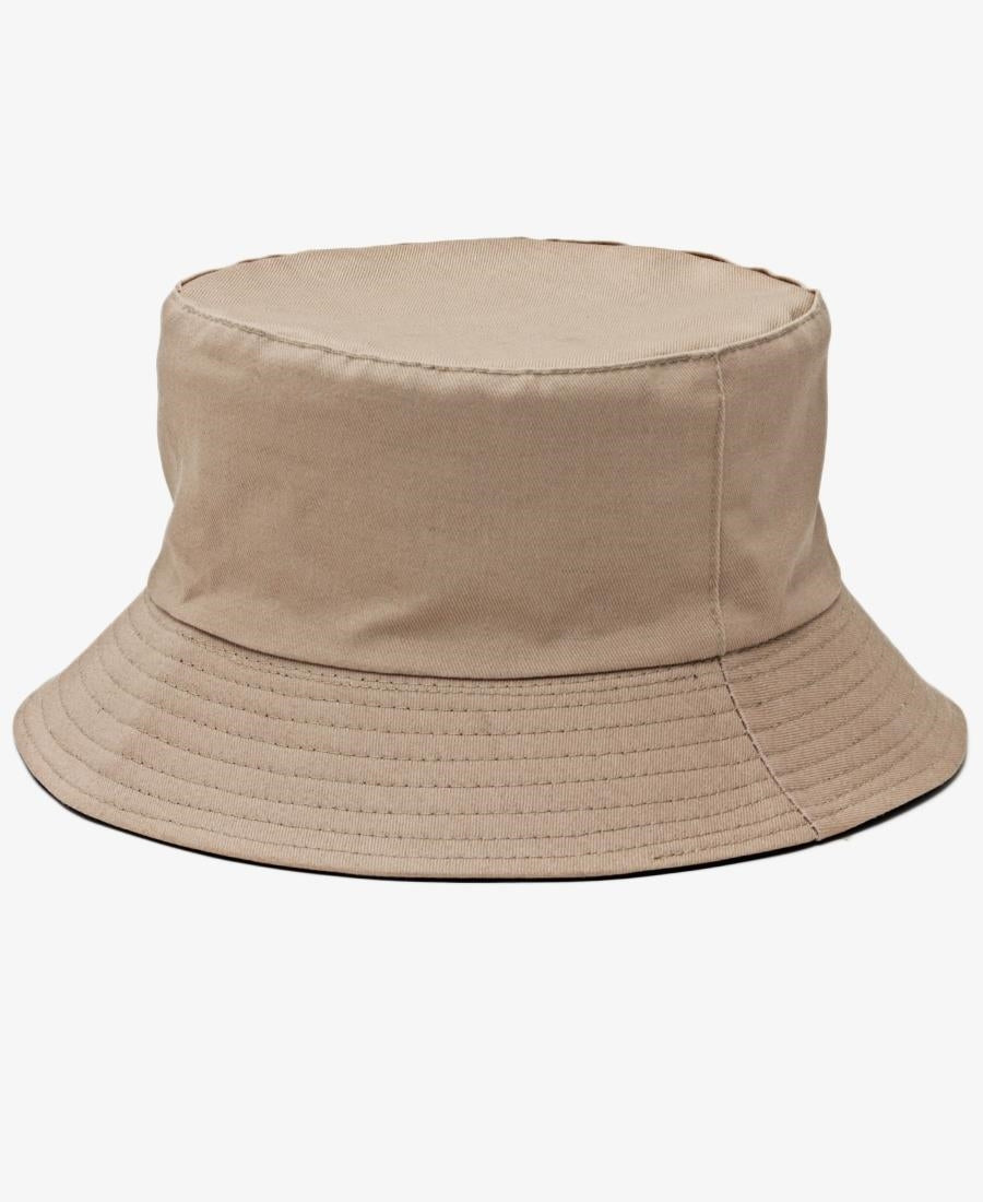 Reversible Bucket Hat - Taupe