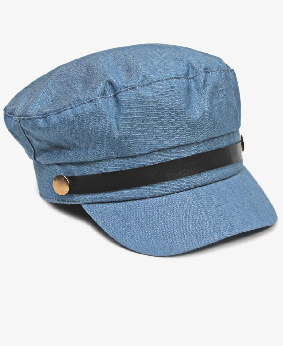 Peak Cap - Blue Denim
