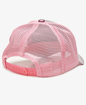 Metallic Trucker Cap - Pink