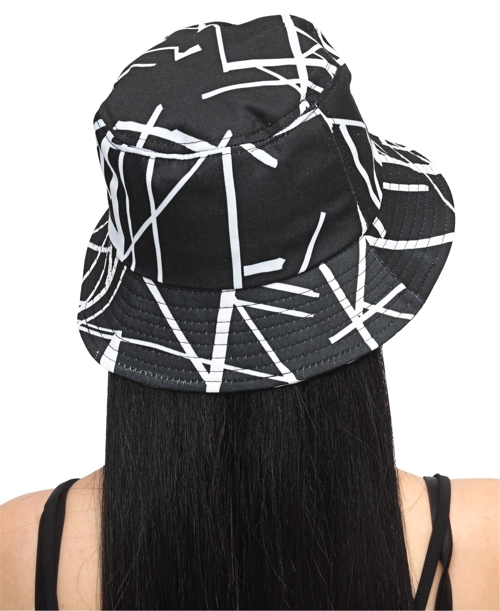 Bucket Hat - Black-White