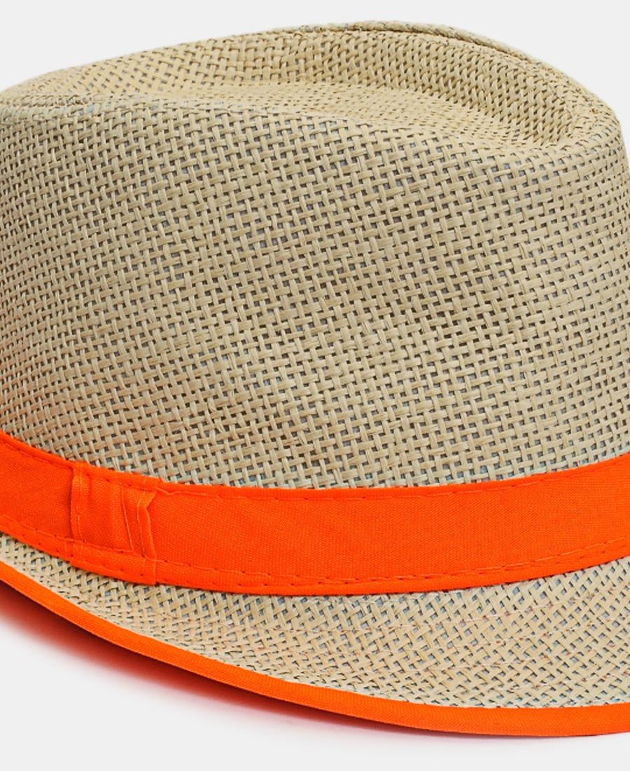 Fedora Hat - Orange