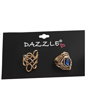 2 Pack Rings - Gold