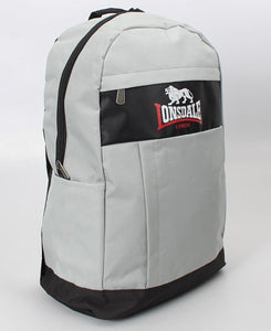 Lonsdale Backpack - Grey-Black