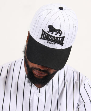 Lonsdale Peak Cap - White-Black
