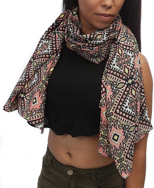 Ethnic Scarf - Pink