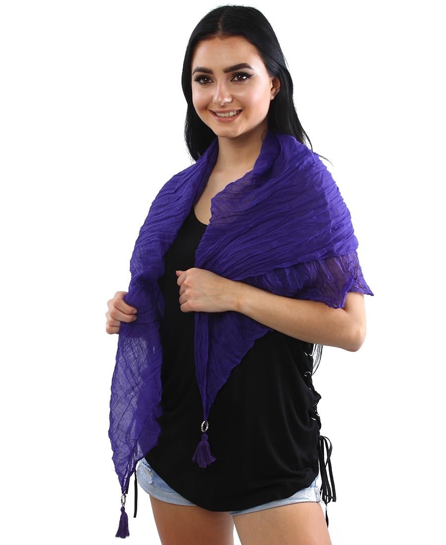 Scarf  - Purple