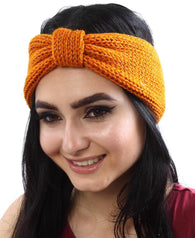 Knitted Scarf - Orange