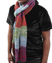 Woven Scarf - Green