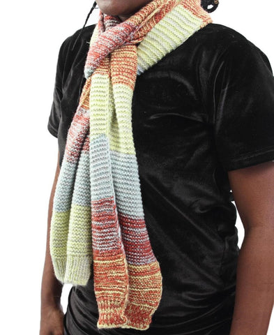 Woven Scarf - Yellow