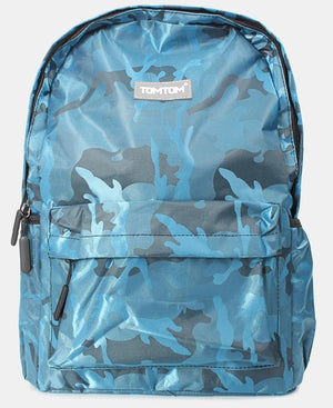 Camo Backpack - Teal