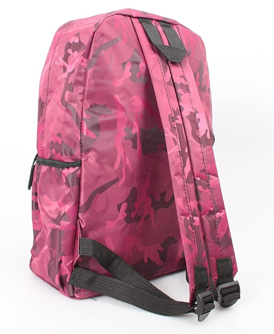 Camo Backpack - Fuschia