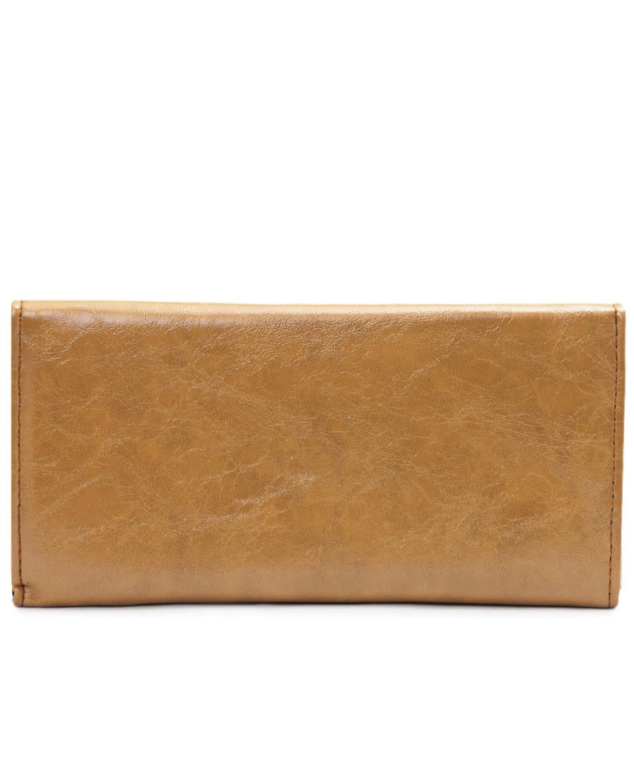Embroided Wallet - Camel