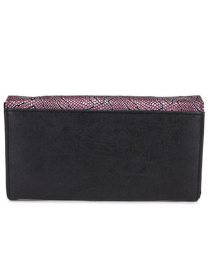 Flap Wallet - Pink