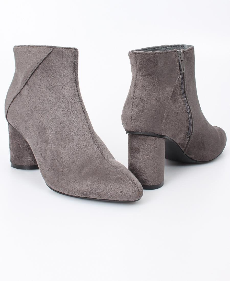 Ladies' Ankle Boot - Grey