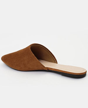 Slip On Sandals - Brown