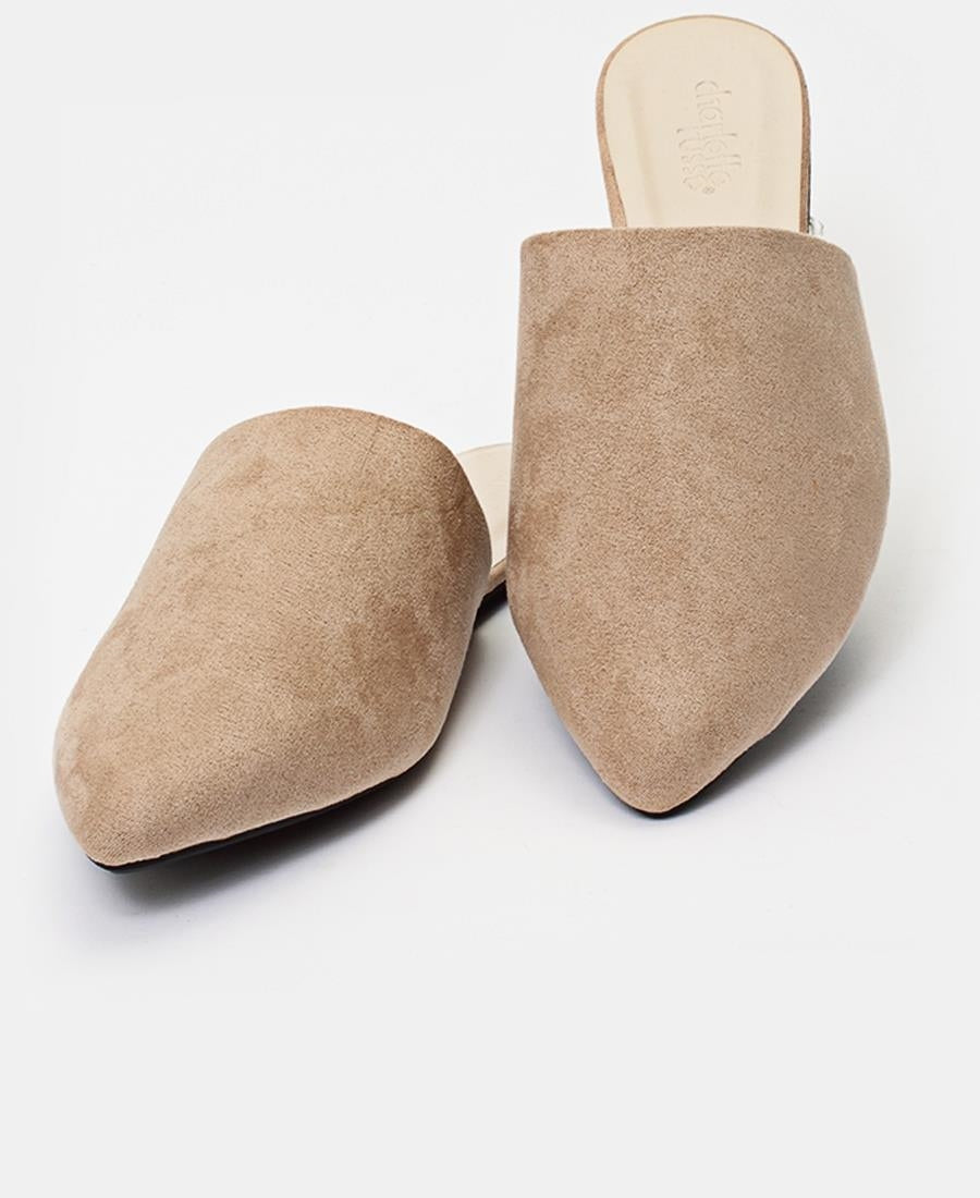 Slip On Sandals - Nude