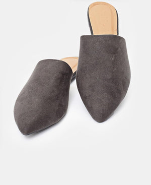 Slip On Sandals - Grey