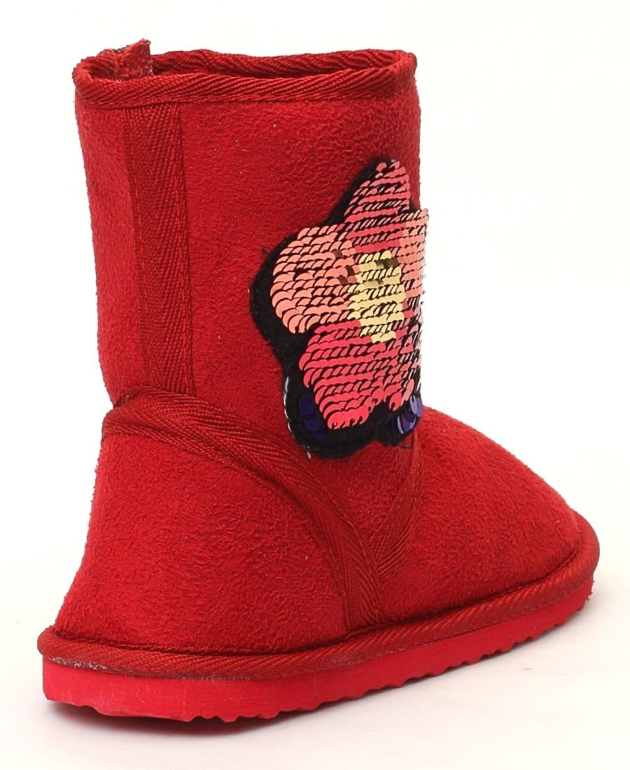 Girls Boots - Red