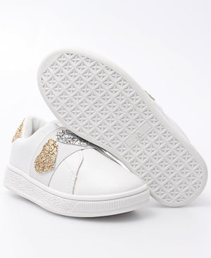 Girls Casual Sneakers - White