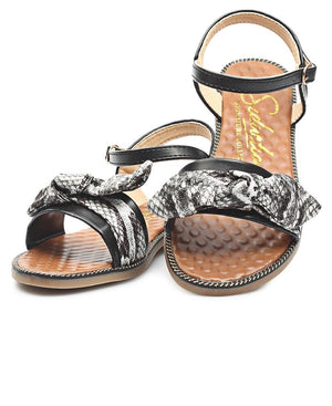 Ladies Black Casual Sandals - Sandals